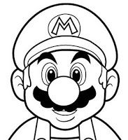 Learn to Draw Mario with Nintendo's Official Flipnote Tutorial . Super Mario Party, Bolo Super Mario, Mario Birthday Cake, Super Mario Birthday, Mario Y Luigi, Mario Kart, Super Mario Brothers, Super Mario Bros, Coloring For Kids