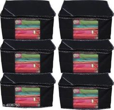 Checkout this latest Clothes Covers Product Name: *Designer Non woven Storage bag ( Set of 6)* Easy Returns Available In Case Of Any Issue   Catalog Rating: ★3.9 (295)  Catalog Name: Classy Wonderful Organizers & Storage CatalogID_572032 C131-SC1628 Code: 813-4036750-147