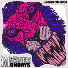 Starting the process for Monster Mondays #3 Exciting News today too! Well I'll let you know that later...For now here is last weeks Monster for those who missed it but...in a new colour! Ooohh Psychedelic! #MonsterMondays #monster #drawing #penandink #art #instaart #instaartist #artist #mentalhealth #mentalhealthawareness #anger #illustration #wip #lion #graphic #anxiety #depression #smashthestigma #stigmafighter #suicideawareness #mentalhealthmatters #recoveryispossible…