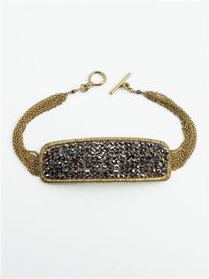 Dana Kellin Beaded Rectangle Bracelet  $690