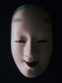 Noh Mask ~ just beautiful! Geisha, Japanese Noh Mask, Japanese Doll, Noh Theatre, Culture Art, Japanese Horror, Turning Japanese, Natsume Yuujinchou, Art Japonais