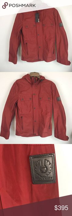 8768518223 Belstaff Ravenswood red coat jacket Authentic, New With Tags Belstaff  Ravenswood Jacket in Cardinal Red