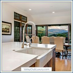 1398 Beard Creek Trail • Vail Valley, Colorado | Exceptional views abound in this outstanding six bedroom, 6,100+ square foot Cordillera Valley Club home// valleyclubluxury.com Residential Real Estate, Luxury Real Estate, Square Feet, Colorado, Trail, Interiors, Club, Bedroom, Home