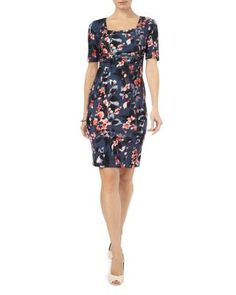 Phase Eight Clairebell Square Neck Dress | Bloomingdale's