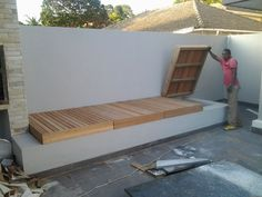 bench seating - Terraza