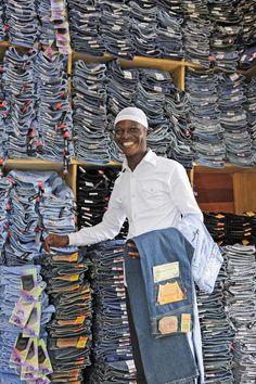 Jeans store, Brazzaville style!