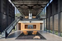 Nestled on a remote shore in New York's Catskill mountains. -  Shokan House