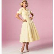 Misses Dress Butterick Pattern 6018.