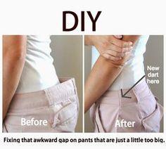 Achicar un pantalon