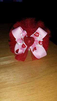 Small Valentine's Day Bow