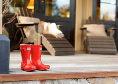 Who doesn't need a pair of red rainboots?