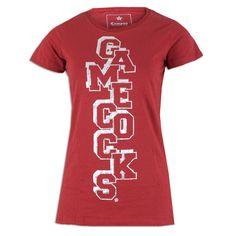 South Carolina Gamecock Ladies Caitlin T-Shirt #carolina #gamecocks