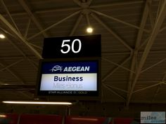 Aegean Business Check-In-Schalter in Larnaka - Check more at http://www.miles-around.de/trip-reports/business-class/aegean-airlines-airbus-a321-200-business-class-larnaka-nach-athen/,  #A321-200 #Aegean #AegeanAirlines #AegeanBusinessLounge #Airbus #Airport #ATH #avgeek #Aviation #Flughafen #LCA #Lounge #Trip-Report