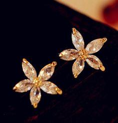 Lady Daisy Rhinestone Fashion Earrings   LilyFair Jewelry,$19.99!
