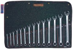 711 Model Code: AA (part# 711)  This item features: -No. of Points: 12. -Opening Type: Open/Box. -Includes: Denim Tool Roll. -Material: Alloy Steel. -Price is for 1 Set. Model CodeModel Description AAOpening Size:3/8 in, 7/16 in, 1/2 in, 9/16 in, 5/8 in, 11/16 in, 3/4 in, 13/16 in, 7/8 in,...