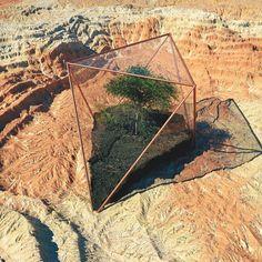 051216.ARIUM #3d #cinema4d #c4d #photoshop #cg #octanerender #computergraphics #geometry #geometric #render #abstract #art #digitalart #illustration #daily #graphicdesign #landscape #mountains #scifi #desert #terrarium #rsa_graphics #surreal #gohmn by gohmn.daily