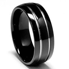 We were surprised with this ring. Dream Wedding, Wedding Day, Wedding Things, Wedding Stuff, Groom Accessories, When I Get Married, Titanium Rings, My Precious, Wedding Images