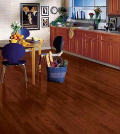 Beautiful Kitchen Floors  #ProSource Floors
