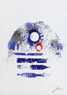 Star Wars Paint - R2-D2