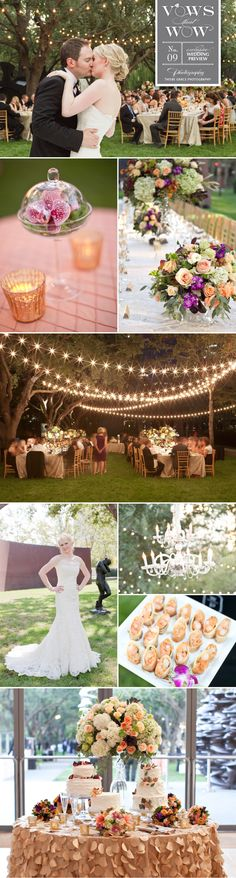 Fabulous outdoor fall wedding