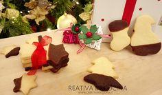 Come tradizione vuole a Natale tra i vari dolci natalizi ecco che arrivano impeccabili come ogni anno i biscotti al burro ma in versione .. Ricetta completa ► https://www.creativaincucina.it/2016/12/20/biscotti-al-burro-di-natale-al-cioccolato/