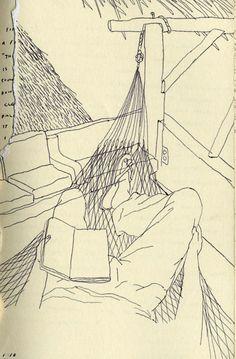 Travel drawings - Brian Rea