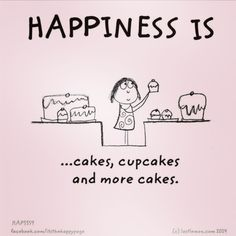I can always start the diet tomorrow 😉 Lovers Quotes, Me Quotes, Funny Quotes, Live Happy, Are You Happy, Cupcake Quotes, Make Me Happy Quotes, What Is Happiness, Reasons To Be Happy