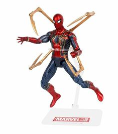 Super Hero Spider-man PVC Action Figure Spiderman Dolls Collectible Toys For Kid Thanos Hulk, Iron Spider, Infinity War, Marvel Avengers, Kids Toys, Spiderman, Action Figures, Collectible Toys, Superhero