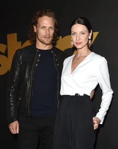 """'Outlander' Season 2 Updates: Sam Heughan Teases Less Sensual Scenes Between Jamie and Claire [Spoilers] - """"Outlander"""" Season 2 may feature less sensual scenes between its lead characters, Jamie Fraser (Sam Heughan) and Claire Randall (Caitriona Balfe). In an interview, Heughan and Balfe admit that Jamie and Claire will have to go through a lot in their marriage this season."""