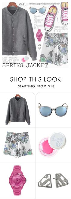 """""""Spring Jacket"""" by pokadoll ❤ liked on Polyvore featuring Lucy B. and Noir"""
