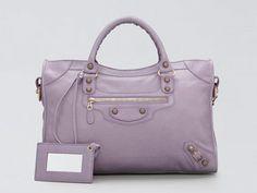 #Balenciaga Giant City - swoon! I love the lavender color #bag
