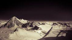 Robert Emmerich - 57 PAN Landscape in Black and White at the stubaital glacier - Austria