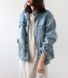 there's something about this cocoon like oversize jacket look which appeals to me