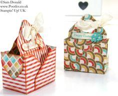POOTLES Stampin' Up! UK Envelope Punch Board Bag in a Box Tutorial 2