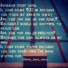 These are so cheesy but I love them anyway! Only a swimmer would get these...