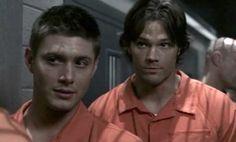 Supernatural - Sam and Dean as prisoners