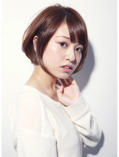 デコ(DECO)【DECO・穂積聡】☆大人かわいい小顔・絶壁解消ショートボブ☆
