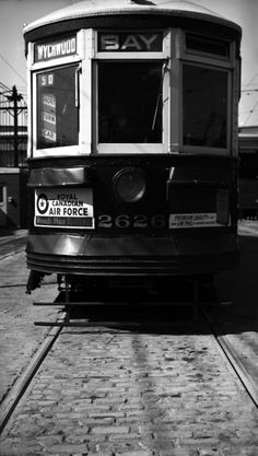 Toronto Transit Commission, at Wychwood carhouse, 1951 Air Force, Toronto, Canada, Urban, History, Memories, Paint, Antique, Projects