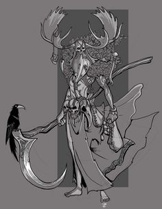 Druid by on DeviantArt Character Aesthetic, Character Concept, Character Art, Concept Art, Character Design, Dnd Characters, Fantasy Characters, Fantasy Warrior, Fantasy Art