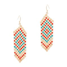 Love this! Kaiya gold plated earrings on flash sale for $22 Found it on MysticJewlery.kitsylane.com