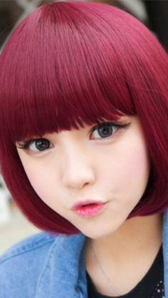 Ulzzang Red Hair ULZZANG!!!!!!!!...