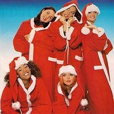Even girl groups couldn't resist the lure of a Santa costume. Even girl groups couldn't resist the lure of a Santa costume…