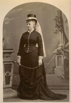1878 riding habit