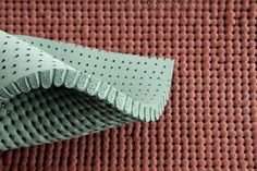 Originally made as ironing textiles and press paddings used in the clothing industry, these foams can also be used in other design applications. Material Board, Material Design, Textures Patterns, Color Patterns, Tactile Texture, Textile Sculpture, Textiles, Color Shapes, Fabric Manipulation