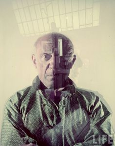 A nice little photo montage of Picasso.