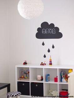 liitutaulutarra,lastenhuone,Tee itse - DIY,lastenhuoneen sisustus,lelut… Kids Room, Ikea, Children, Baby, Yard Ideas, Interesting Stuff, Chalkboard, Home Decor, Young Children