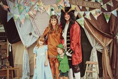 Peter Pan Party. Rob would make an awesome Hook ;)