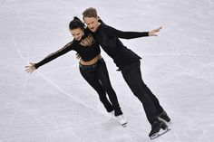 Madison Chock and Evan Bates of United States compete in the Ice Dance Short Dance during ISU Four Continents Figure Skating Championships - Gangneung -Test Event For PyeongChang 2018 at Gangneung Ice Arena on February 16, 2017 in Gangneung, South Korea.
