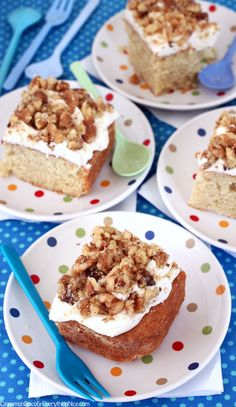 Maple Walnut Cake   via Cinnamon Spice and Everything Nice   {This sounds so sweet and yummy!}