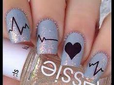 Resultado de imagen para uñas decoradas paso a paso faciles para jovenes